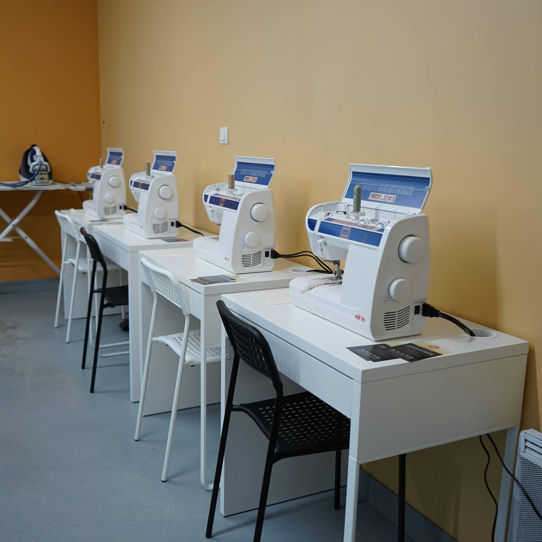 Atelier de fils - Machines