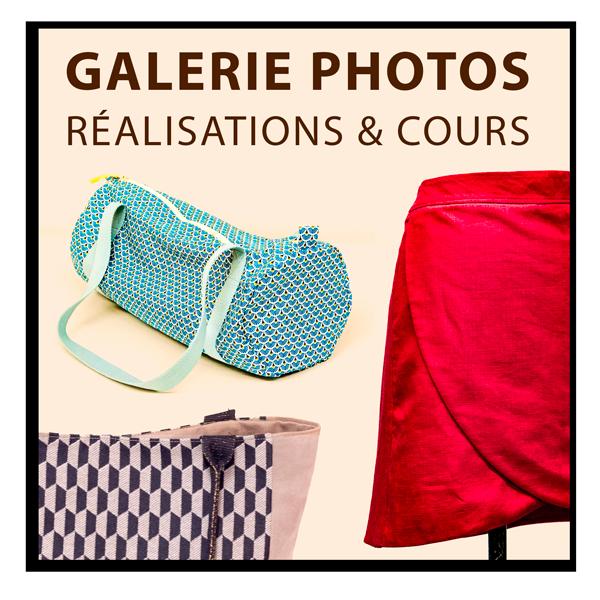 Galerie photos cours de couture